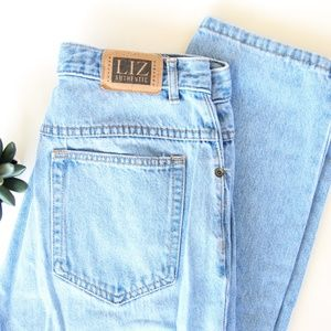 Vintage 90s Liz Authentic High Waisted Mom Jeans